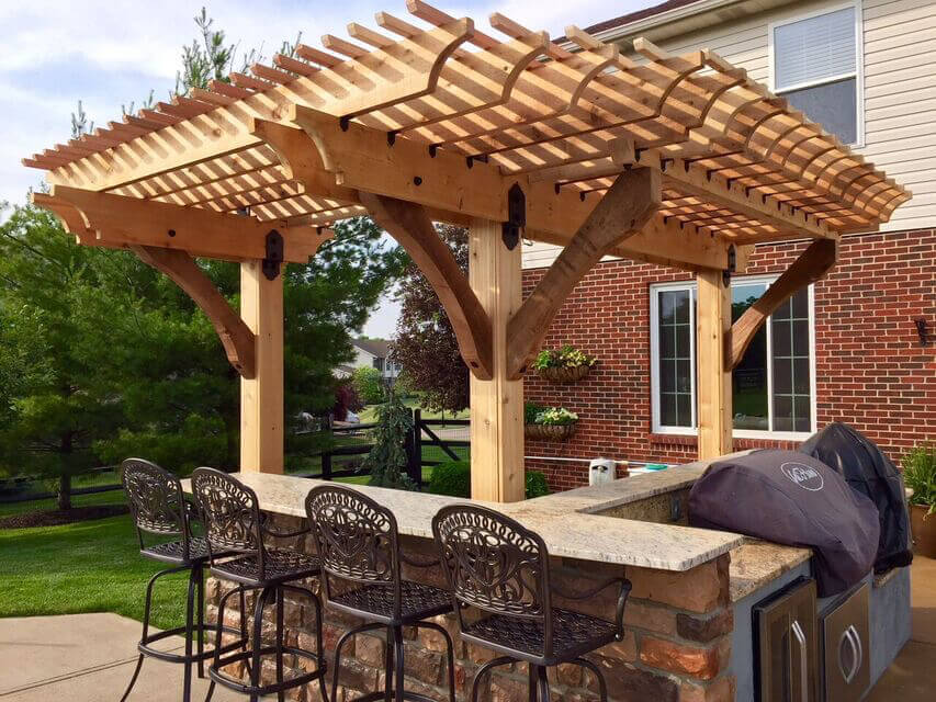 Outdoor Grill Area Ideas