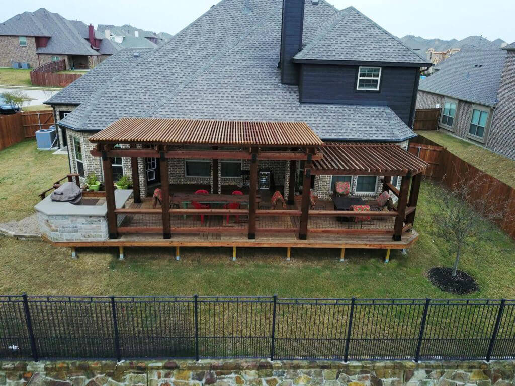 How to add a pergola to a deck tips and considerations for Things to consider when building a deck