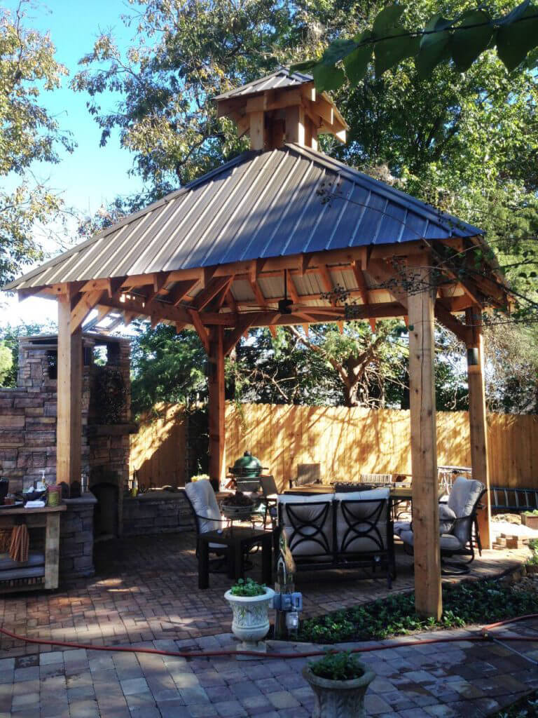 We'll talk about How to Build a Square Gazebo Roof and its major components