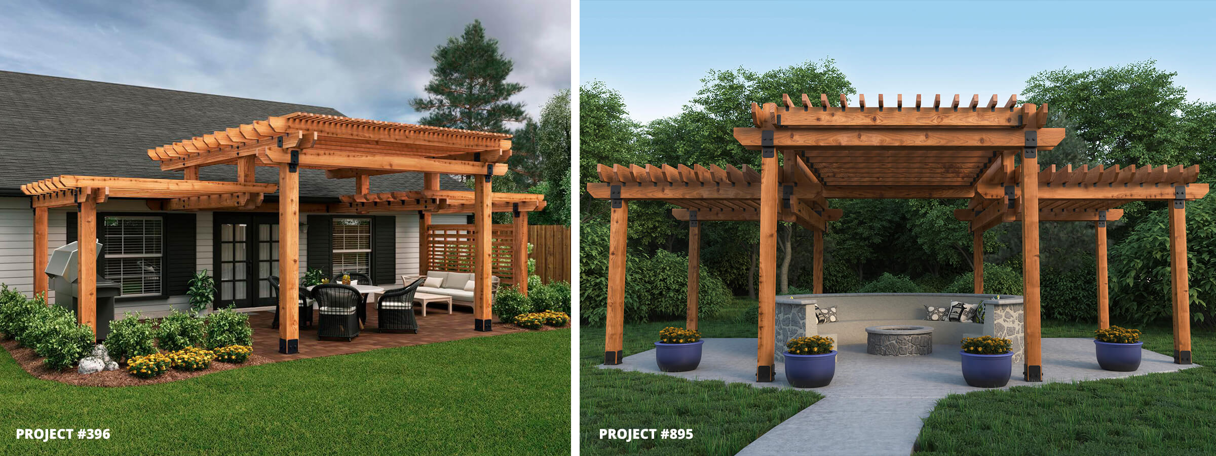 Project 396 895 Two Tier Pergola