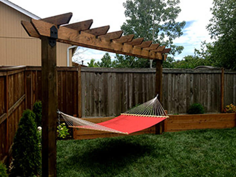 Outdoor Seating Hammock