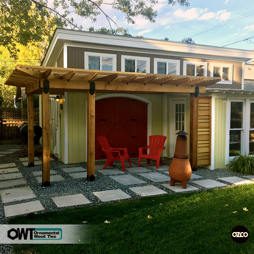 Project Plans: Corner Pergola Free Standing & Attached