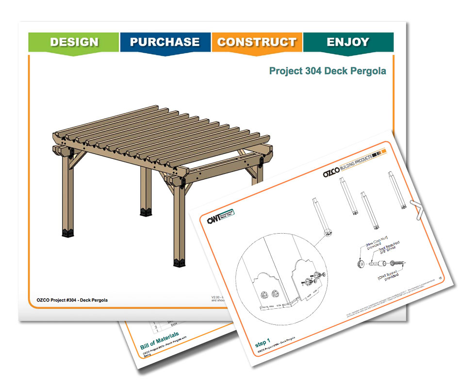 Multipurpose Deck Pergola