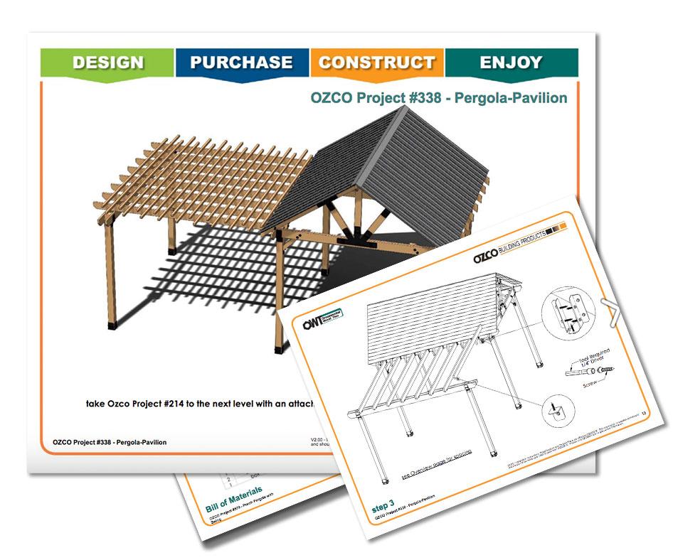 Multipurpose Pavilion Pergola